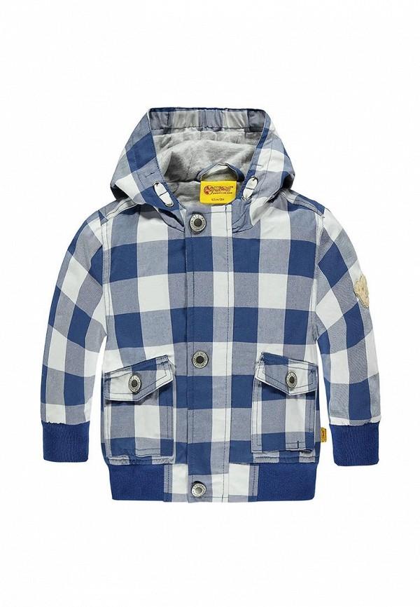куртка steiff для мальчика, синяя