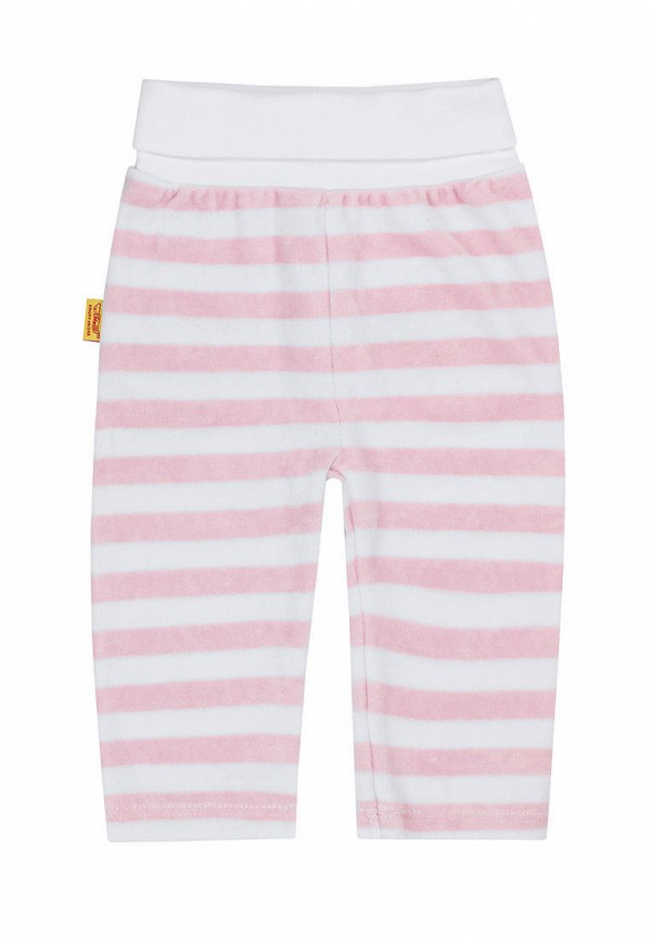 брюки steiff для мальчика, розовые