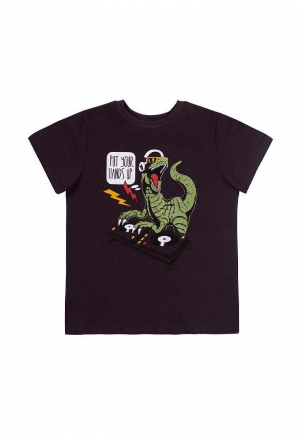 футболка с коротким рукавом бемби для мальчика, черная