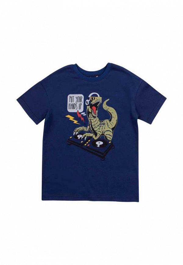 футболка с коротким рукавом бемби для мальчика, синяя