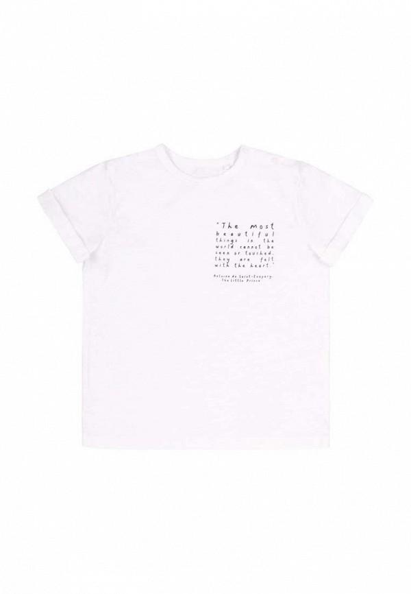 футболка с коротким рукавом бемби для мальчика, белая