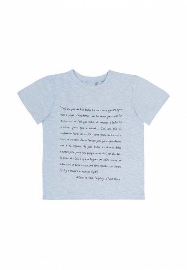 футболка с коротким рукавом бемби для мальчика, голубая