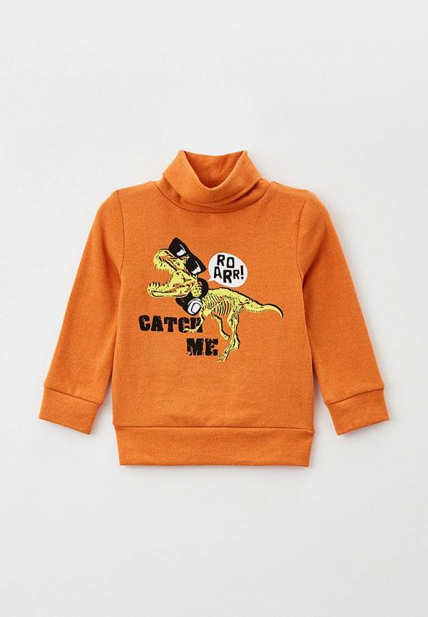 водолазка gloria jeans для мальчика, оранжевая