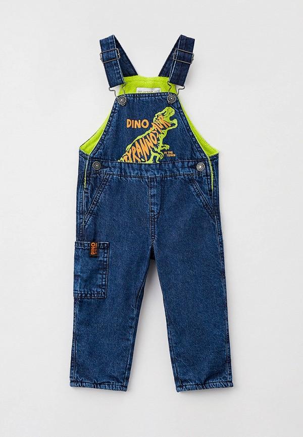 комбинезон с брюками gloria jeans для мальчика, синий