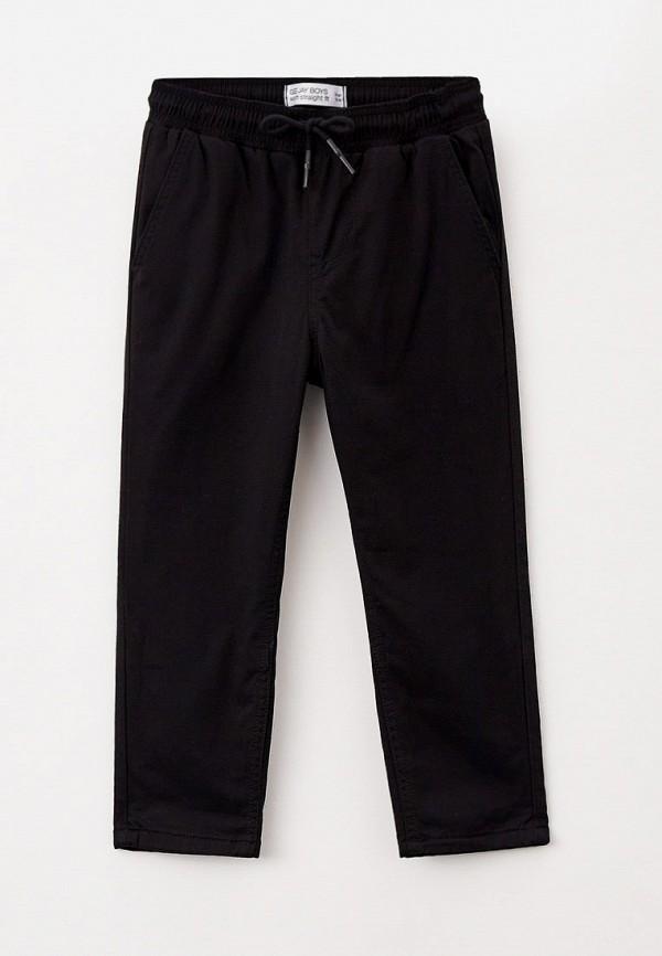 утепленные брюки gloria jeans для мальчика, черные