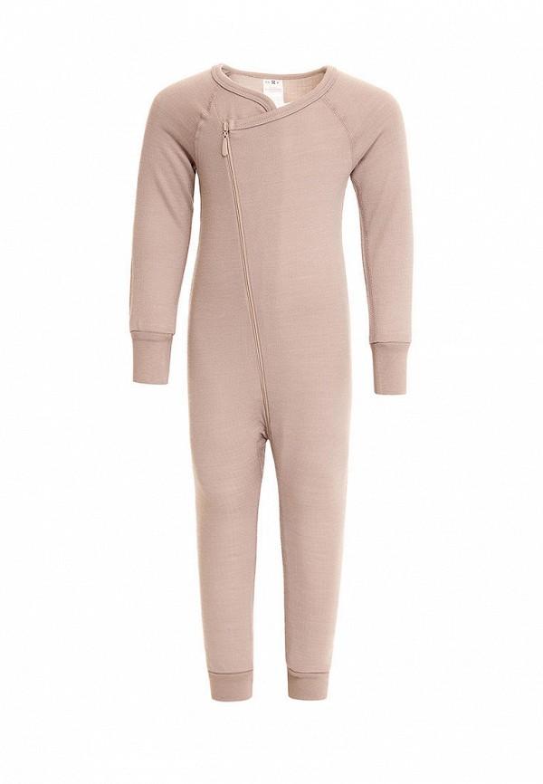 комбинезон с брюками lynxy для мальчика, бежевый