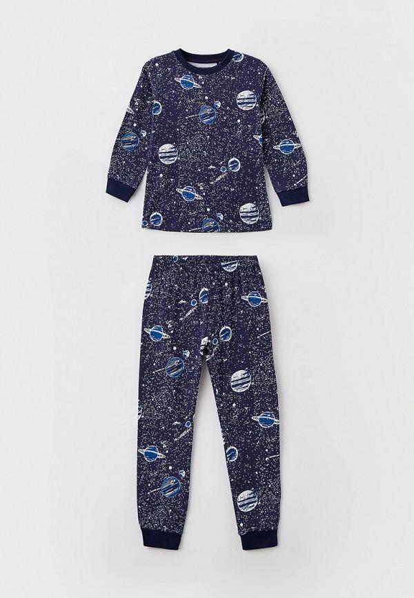 пижама baon для мальчика, синяя