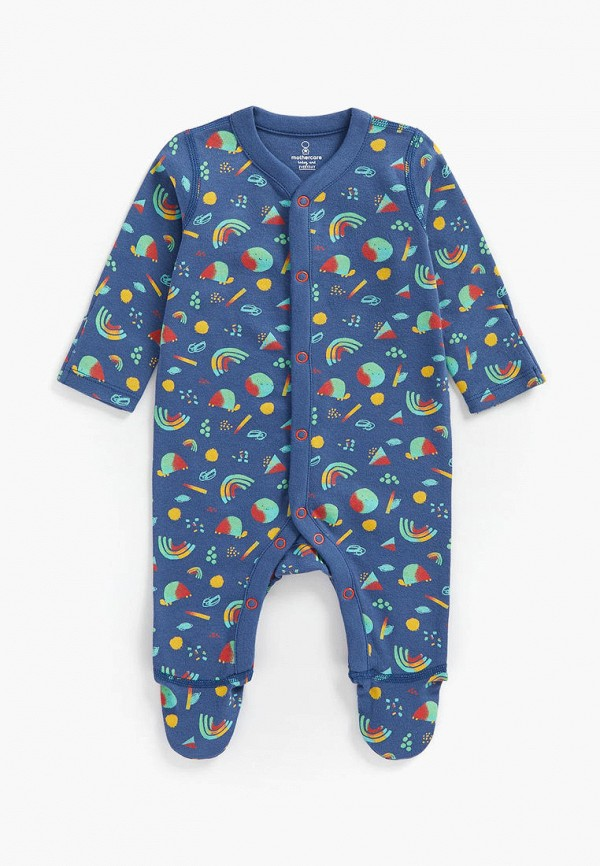комбинезон с брюками mothercare для мальчика, синий