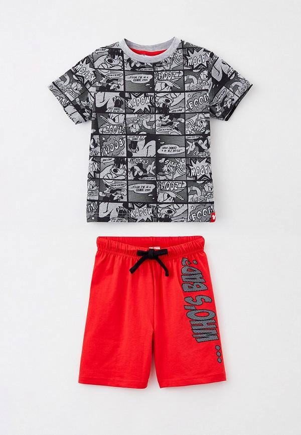 футболка playtoday для мальчика, разноцветная