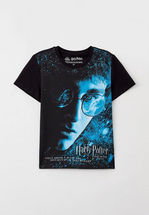футболка с коротким рукавом crazy getup для мальчика, черная