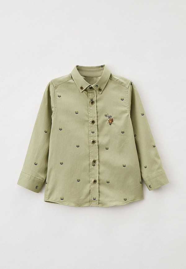 рубашка u.s. polo assn для мальчика, хаки