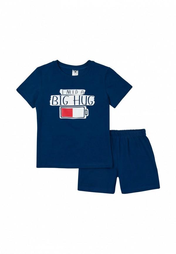 пижама garnamama для мальчика, синяя