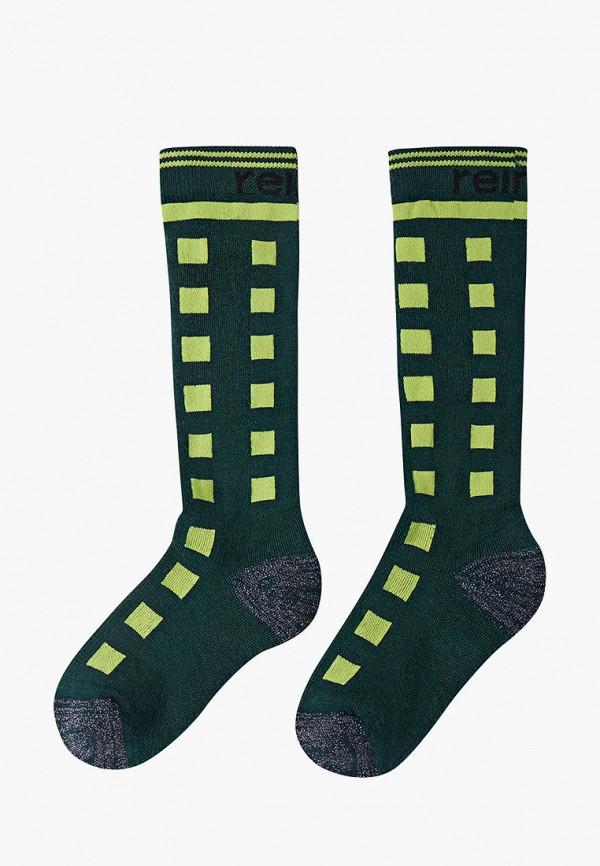 носки reima для мальчика, зеленые