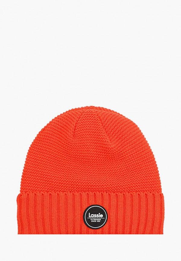 шапка lassie by reima для мальчика, оранжевая