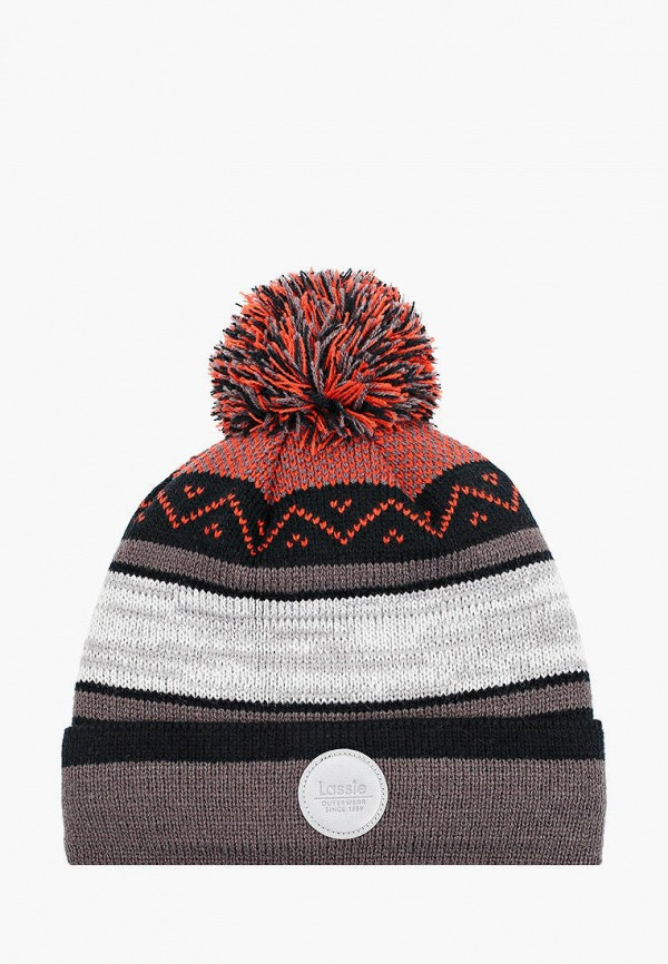 шапка lassie by reima для мальчика, разноцветная
