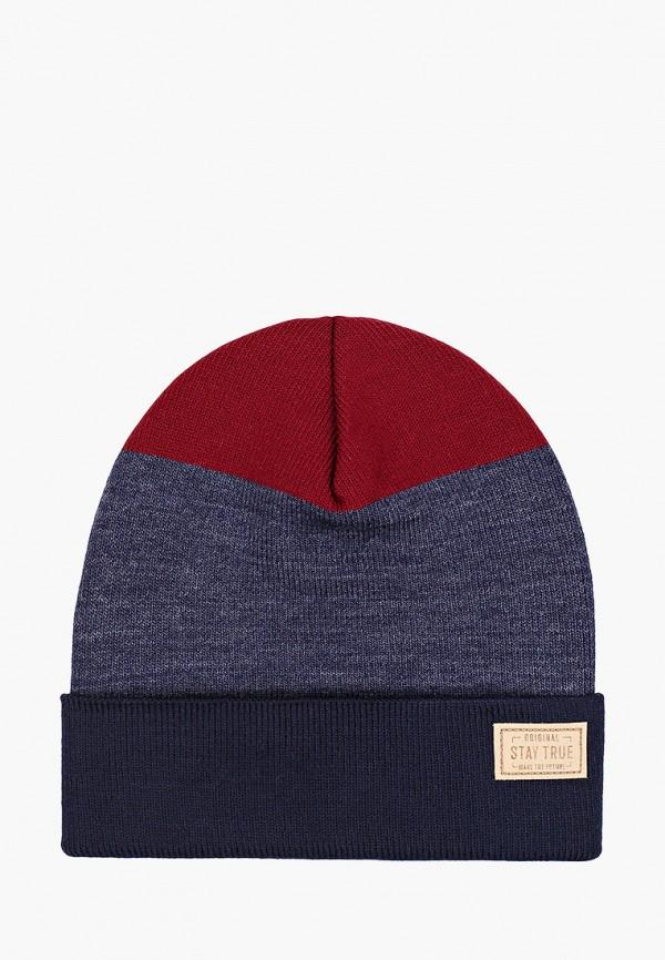 шапка acoola для мальчика, разноцветная