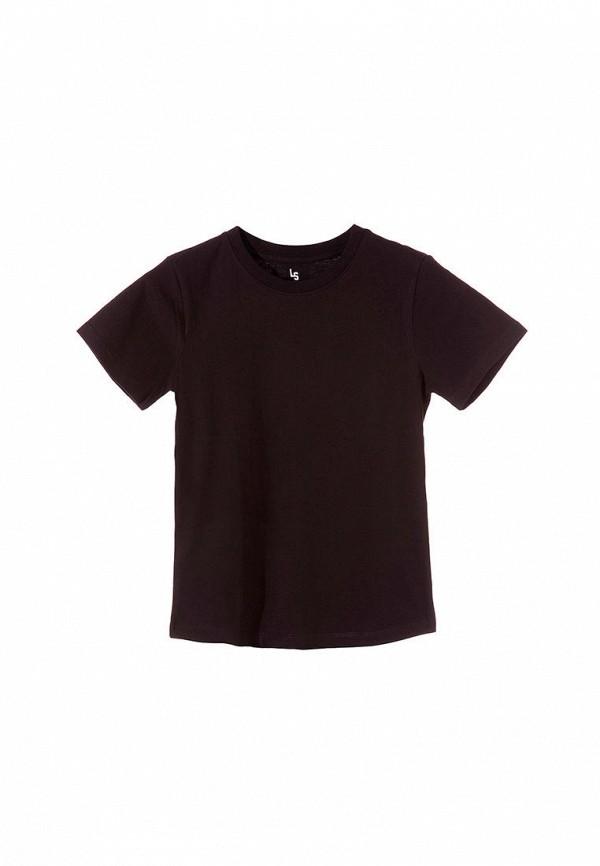 футболка с коротким рукавом 5.10.15 для мальчика, черная
