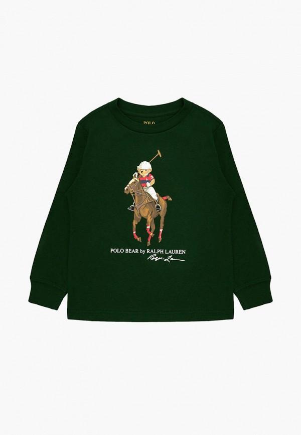 свитшот polo ralph lauren для мальчика, зеленый