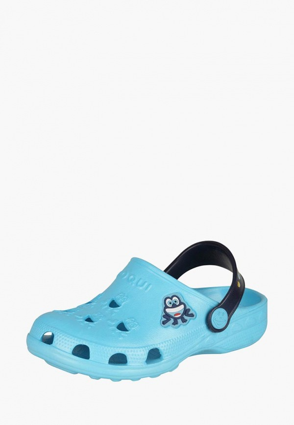 Купить Сабо Coqui, Little Frog, mp002xc000tm, голубой, Весна-лето 2017