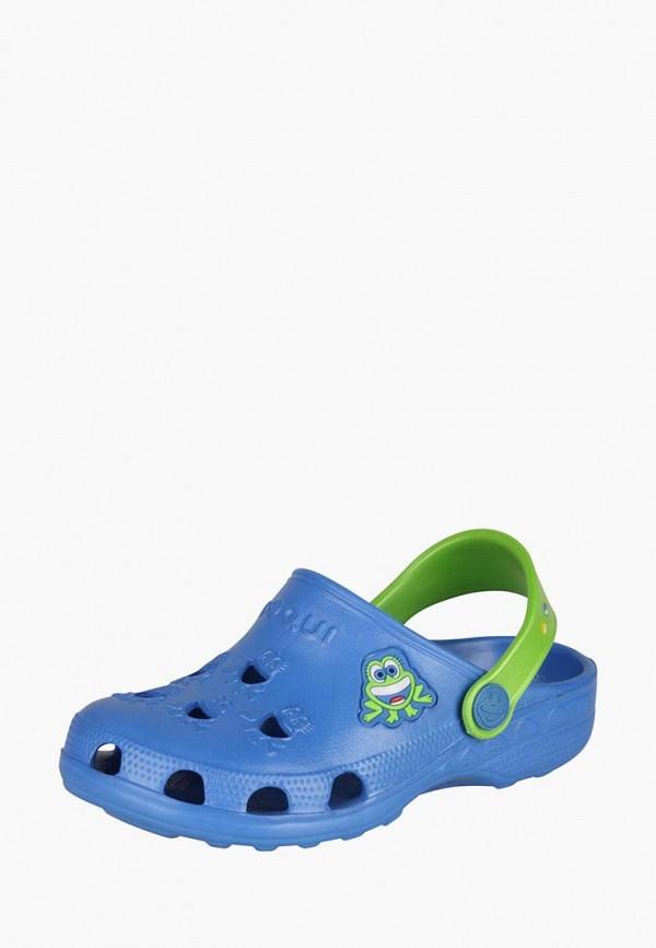 Купить Сабо Coqui, Little Frog, mp002xc000to, синий, Весна-лето 2017