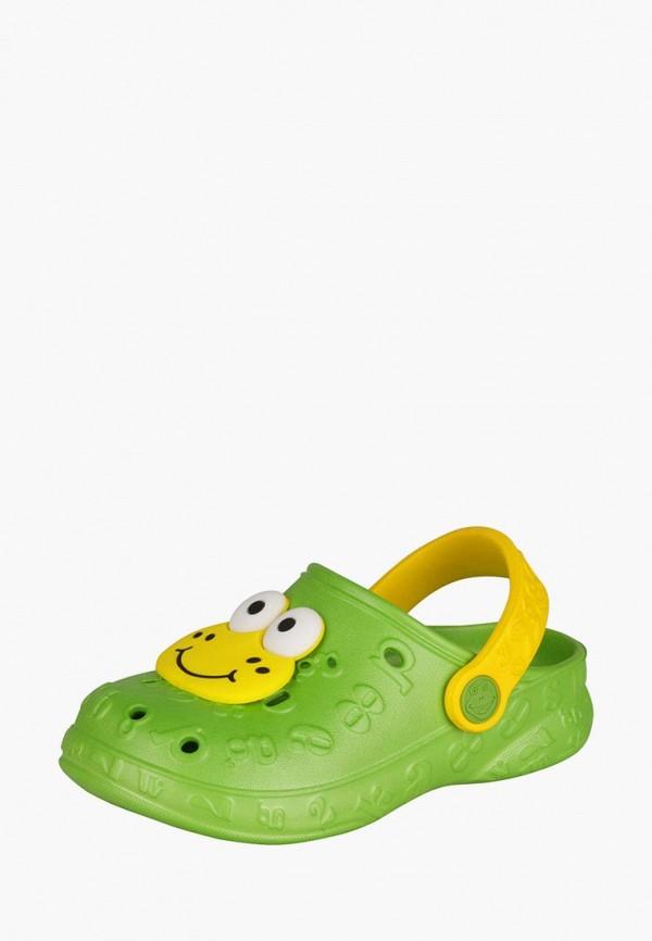 Купить Сабо Coqui, Froggy, mp002xc000tt, зеленый, Весна-лето 2017