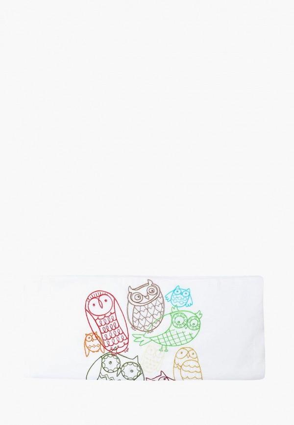 Купить Funny Owls, Постельное белье детское Cloud factory, белый, children, Весна-лето 2018, Детское постельное белье