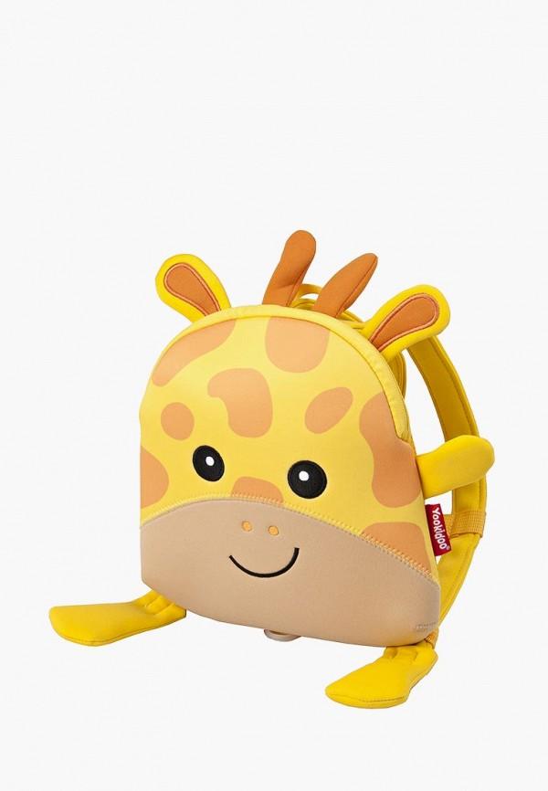 рюкзак yookidoo малыши, желтый