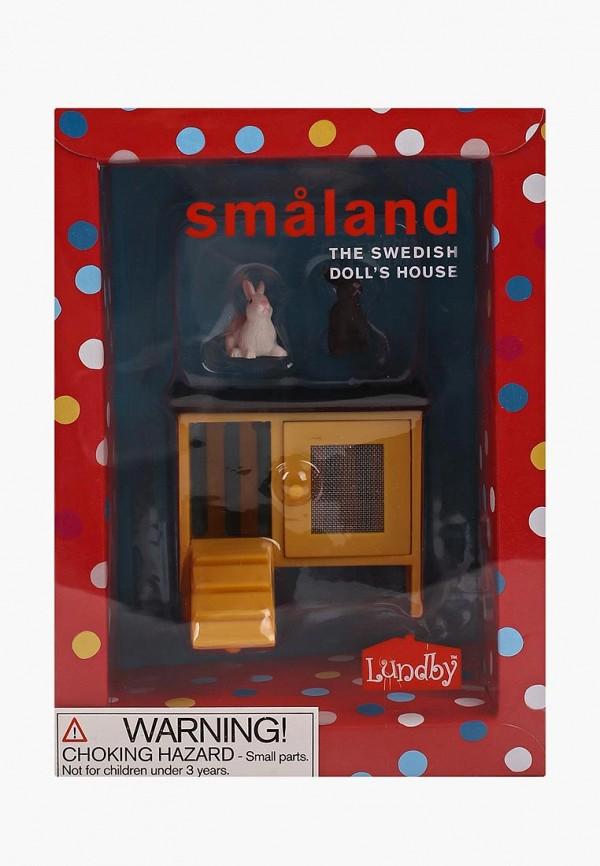 Купить Набор игровой Lundby, Животные для домика. Смоланд. Кролики и домик., mp002xc002f7, разноцветный