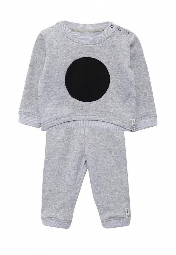Костюм спортивный для мальчика COOCKOO цвет серый