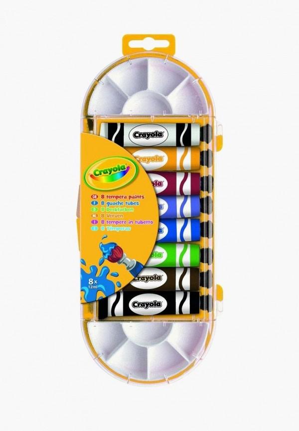 Купить Набор для творчества Crayola, 8 красок в тюбике с кисточкой для рисования, mp002xc003y9, разноцветный