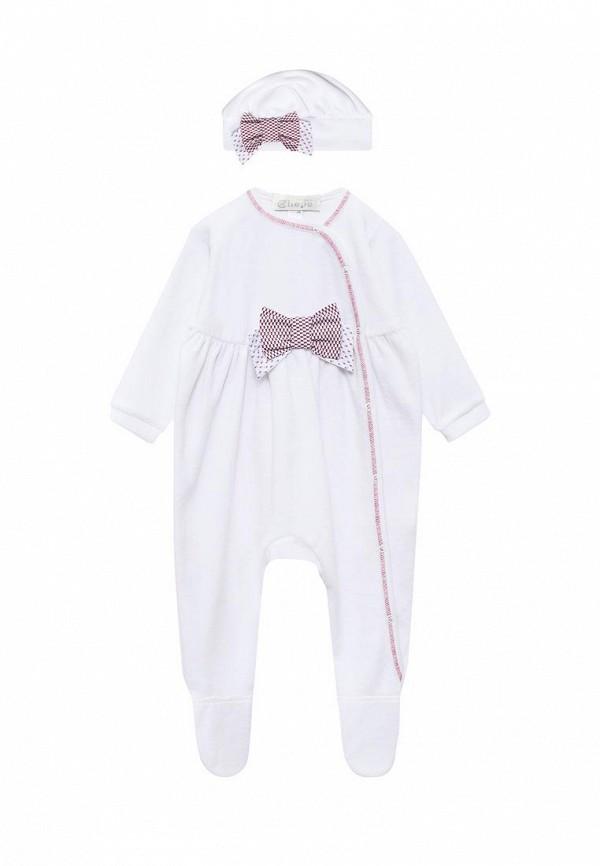 Комплект для девочки Premium Chepe цвет белый