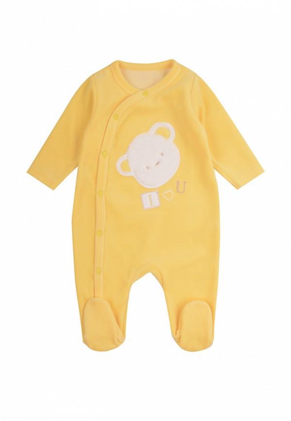 комбинезон фламинго текстиль малыши, желтый