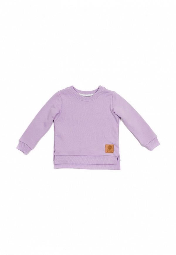 свитшот bodo малыши, фиолетовый