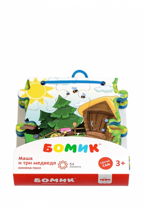 Пазл Бомик Бомик MP002XC00562 бомик пазл для малышей цифры цвет основы желтый