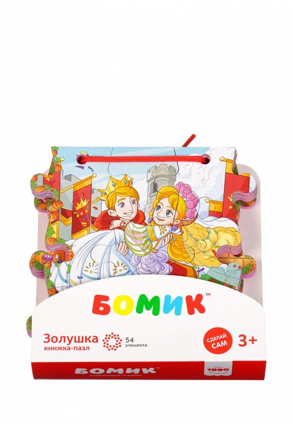 Пазл Бомик Бомик MP002XC00563 бомик пазл для малышей цифры цвет основы синий