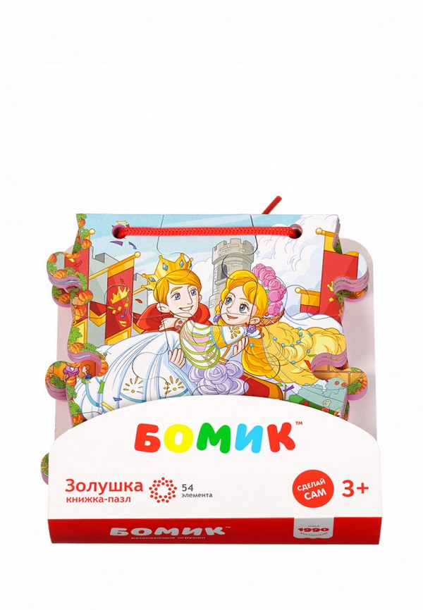 Пазл Бомик Бомик MP002XC00563 бомик пазл для малышей цифры цвет основы желтый