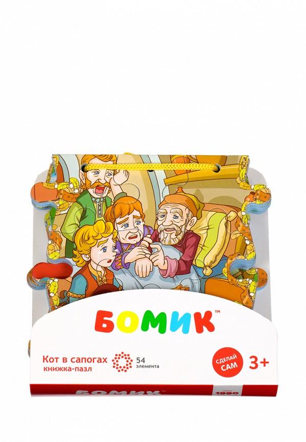 Пазл Бомик Бомик MP002XC00564 бомик пазл для малышей цифры цвет основы синий