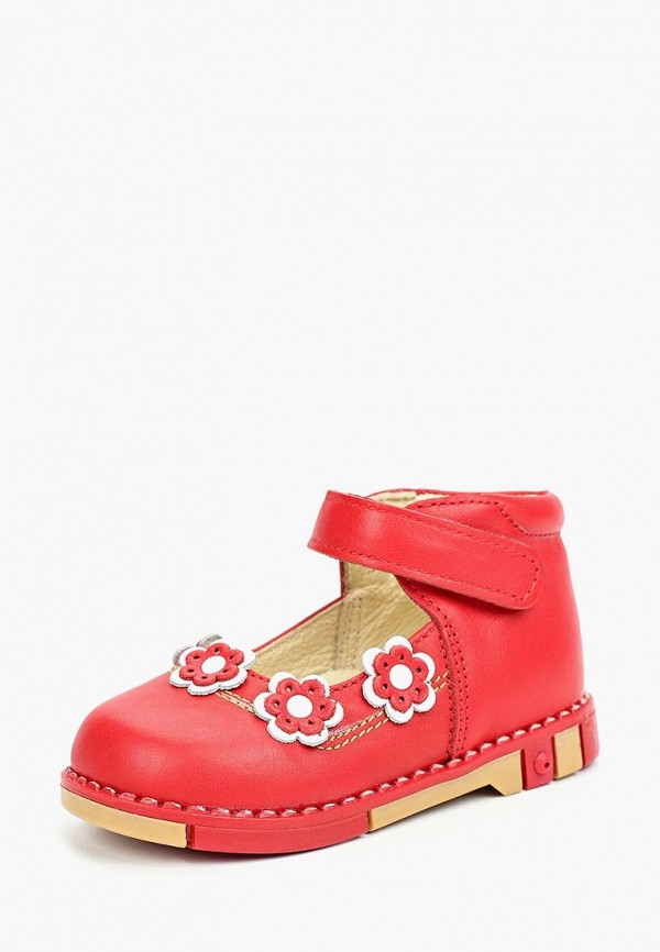 туфли таши орто малыши, красные