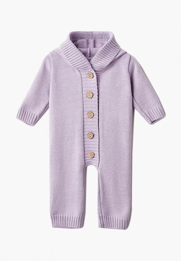 комбинезон лапушка малыши, фиолетовый