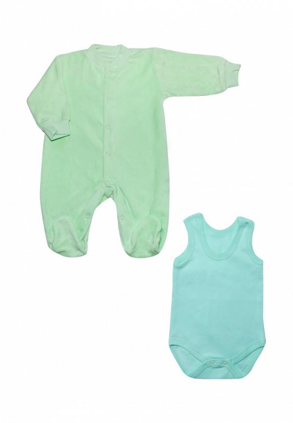 Комплект Клякса Клякса MP002XC005JW комплект одежды детский клякса цвет зеленый экрю 37 301 размер 74