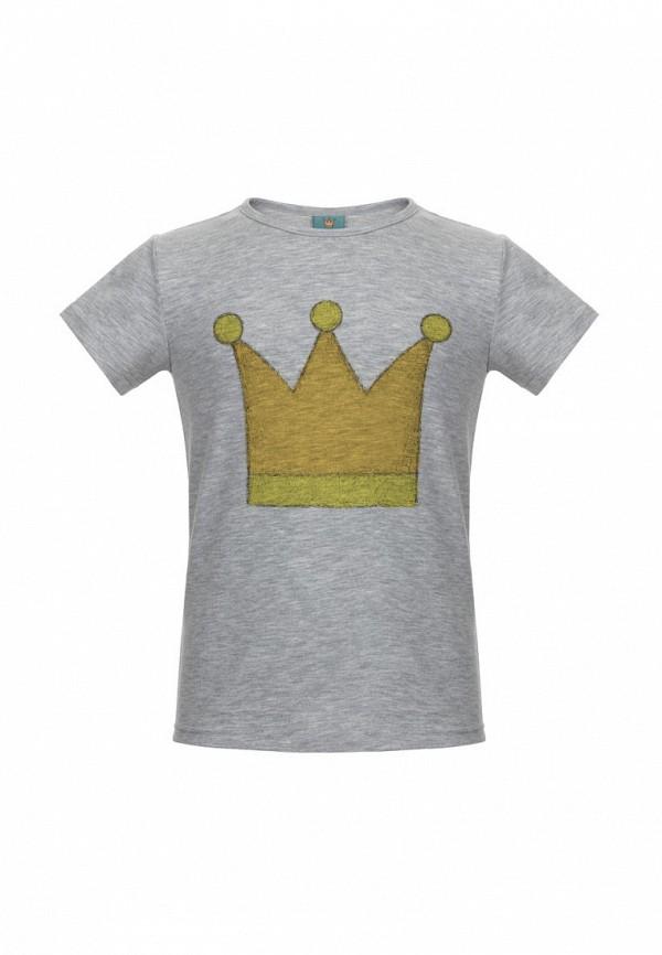 футболка с коротким рукавом lisa&leo малыши, серая
