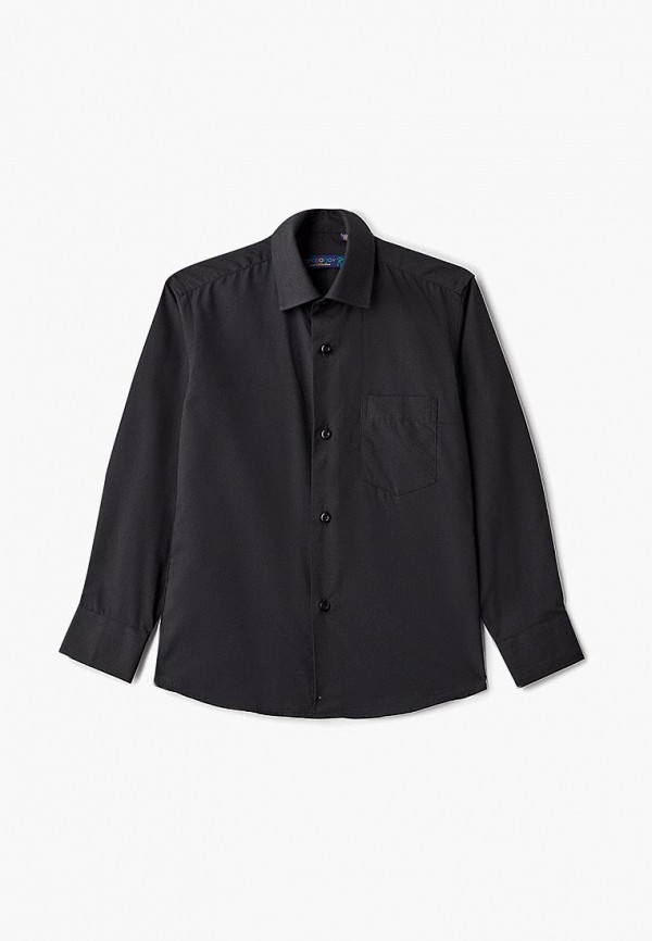 рубашка katasonov малыши, черная