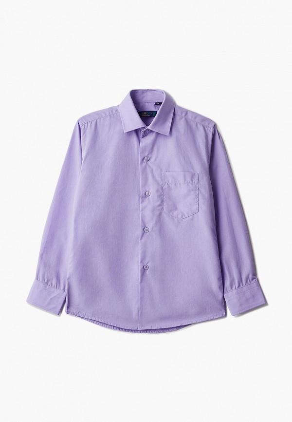 рубашка katasonov малыши, фиолетовая