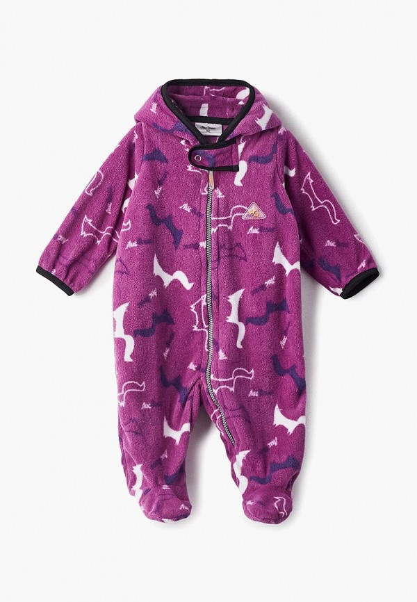 комбинезон лисфлис малыши, фиолетовый