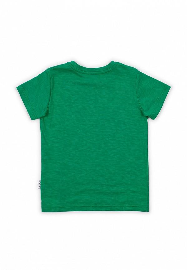Футболка для мальчика bodo цвет зеленый  Фото 3