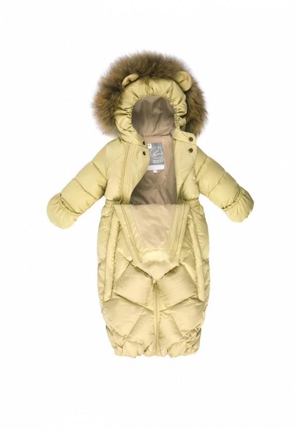 Детский комбинезон утепленный ArctiLine цвет желтый  Фото 4