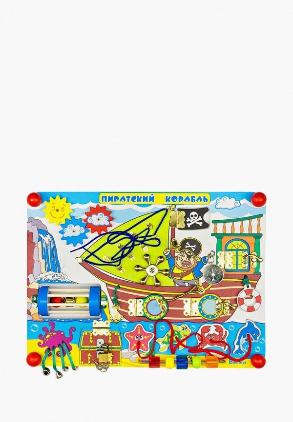Купить Набор игровой Alatoys, Бизиборд Пиратский корабль , mp002xc005x7, разноцветный, Весна-лето 2019