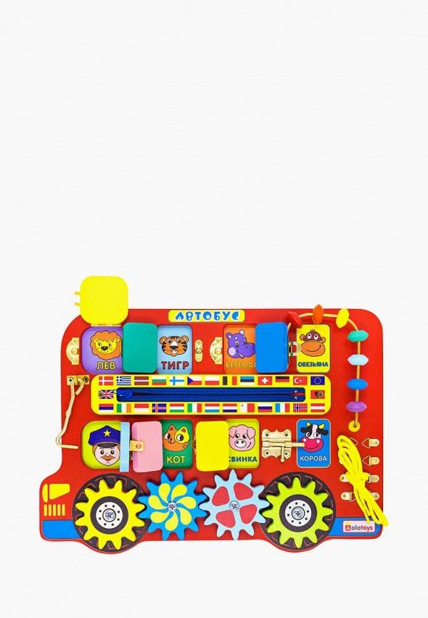 Купить Набор игровой Alatoys, Бизиборд Автобус , mp002xc005x9, разноцветный, Осень-зима 2018/2019