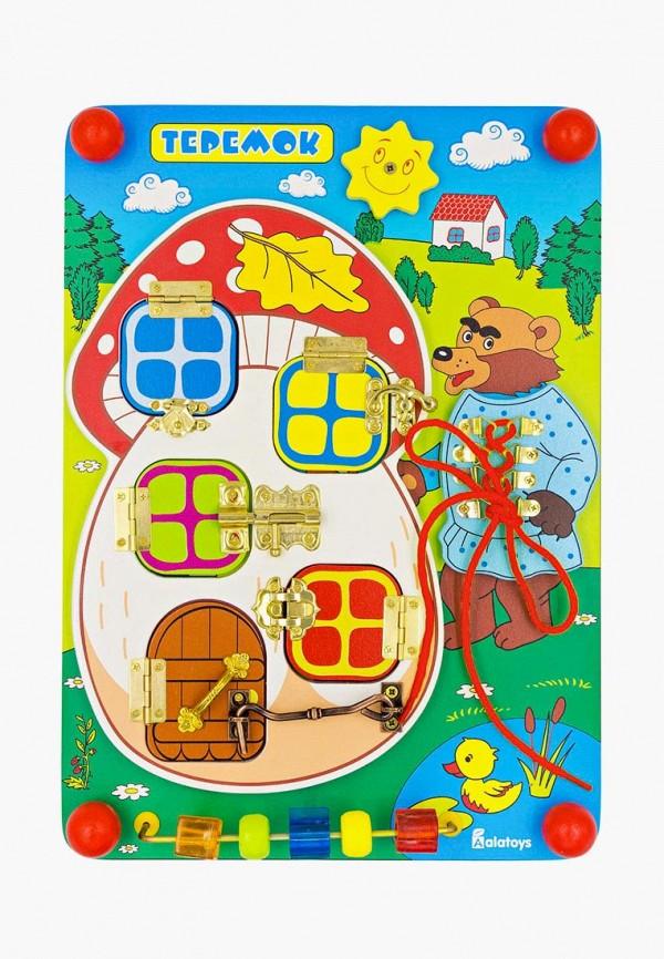 Купить Набор игровой Alatoys, Бизиборд Теремок , mp002xc005xa, разноцветный, Осень-зима 2018/2019