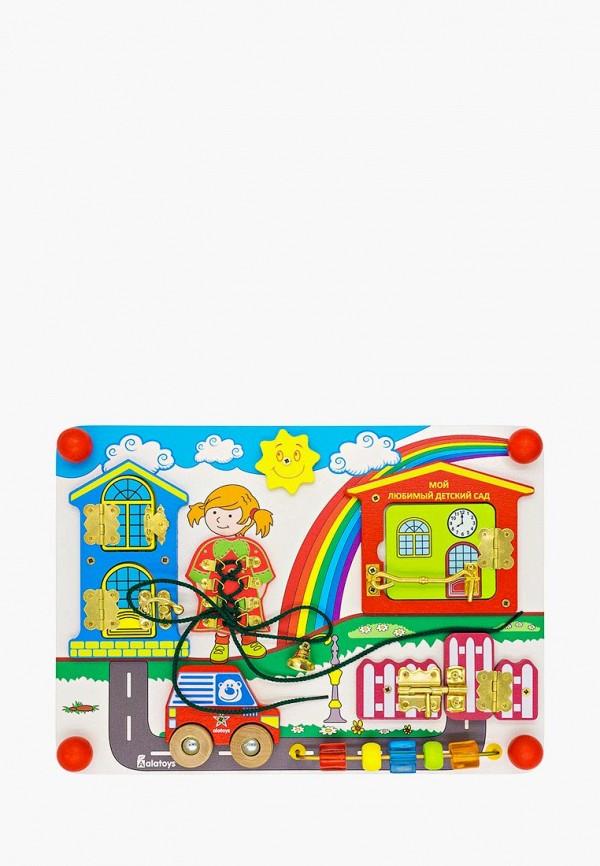 Купить Набор игровой Alatoys, Бизиборд Солнечный день , mp002xc005xf, разноцветный, Весна-лето 2019